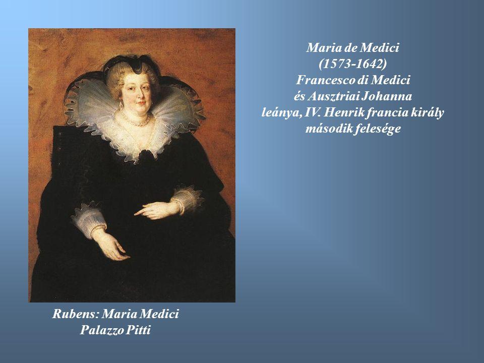 leánya, IV. Henrik francia király második felesége