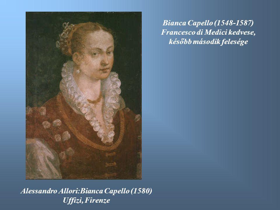 Francesco di Medici kedvese, később második felesége