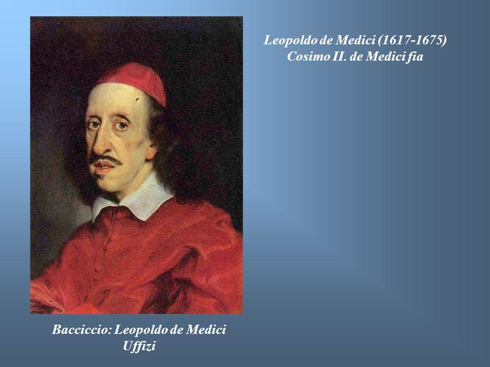 Bacciccio: Leopoldo de Medici