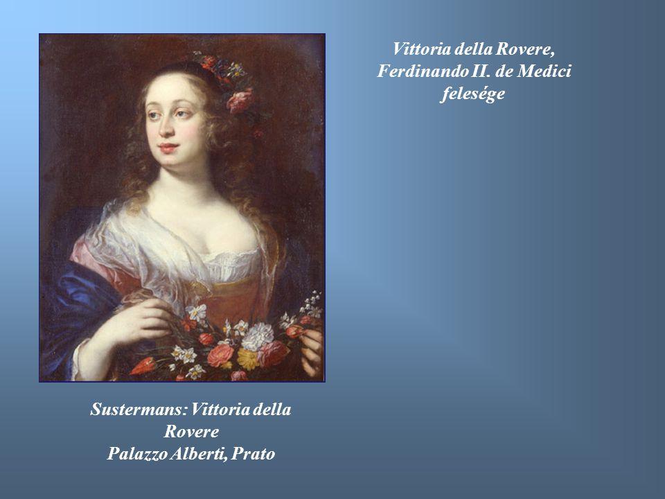 Vittoria della Rovere, Ferdinando II. de Medici felesége