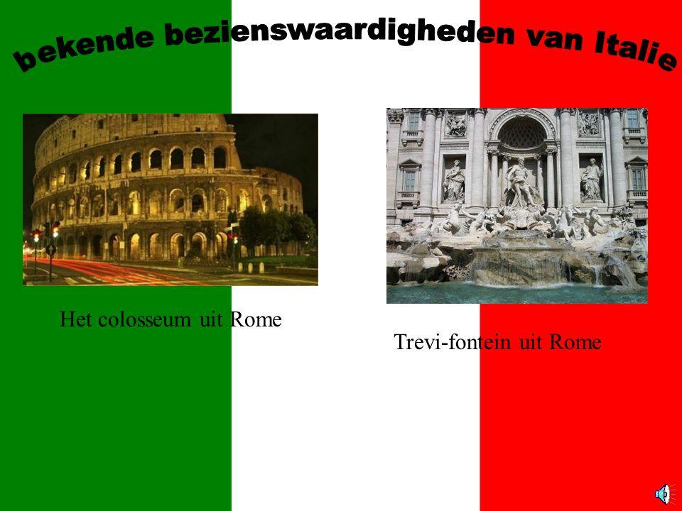 bekende bezienswaardigheden van Italie