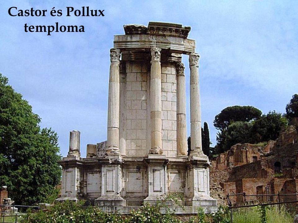 Castor és Pollux temploma