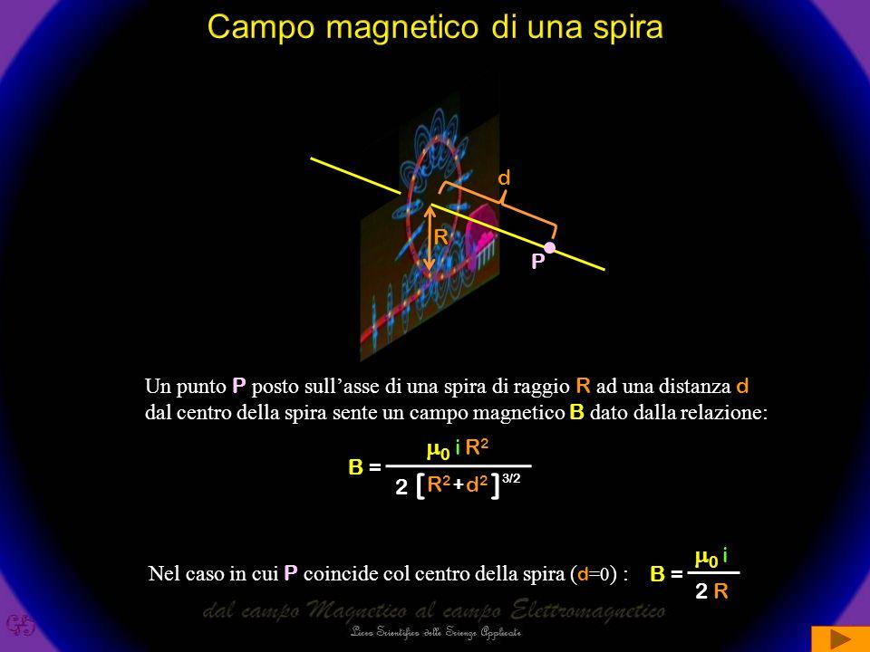 Campo magnetico di una spira