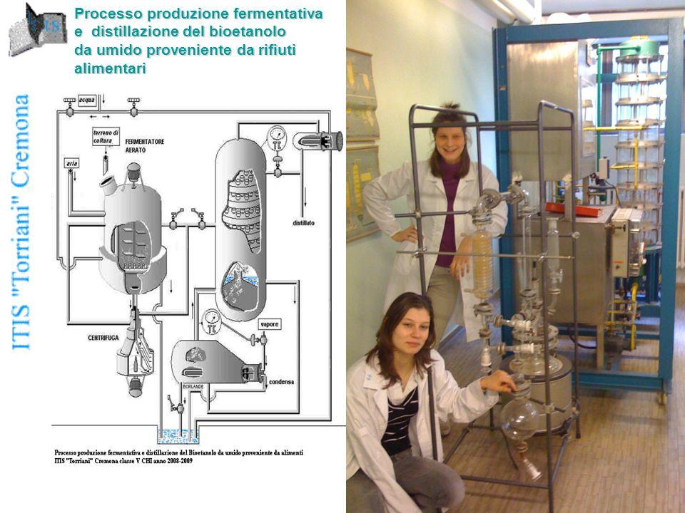 Processo produzione fermentativa