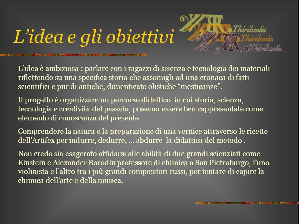 L'idea e gli obiettivi