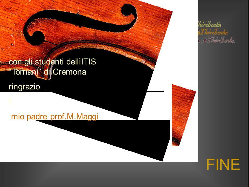 FINE con gli studenti dellìITIS Torriani di Cremona ringrazio I