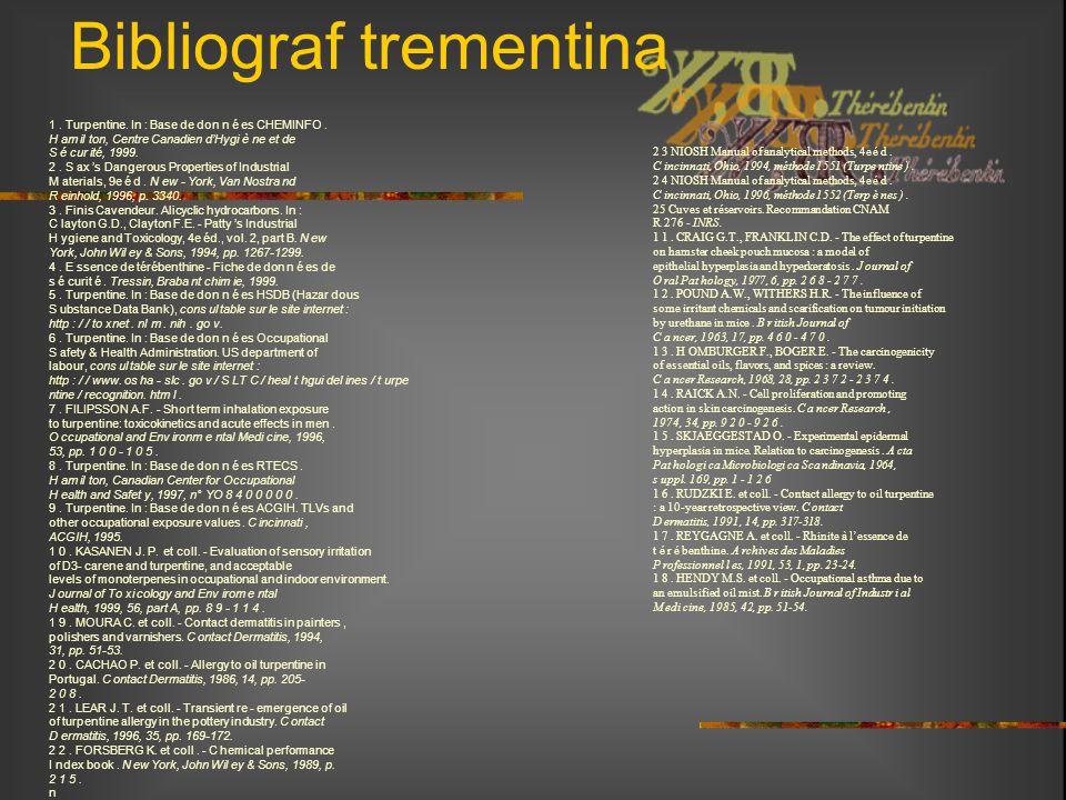 Bibliograf trementina