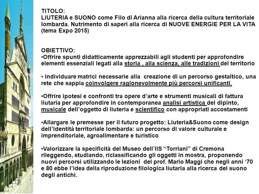 TITOLO: