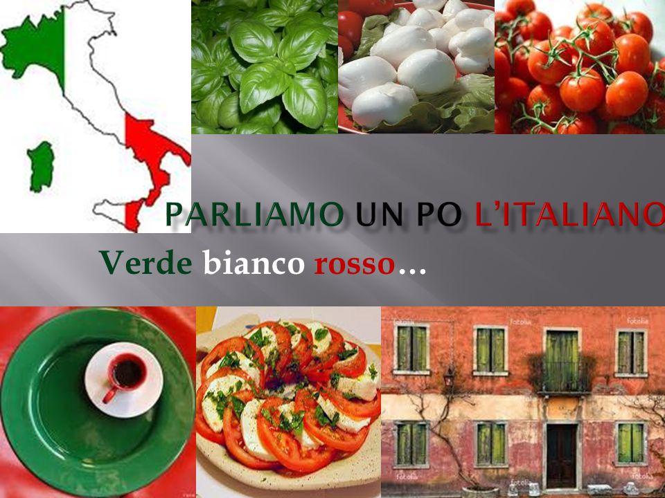 Parliamo un po l'italiano