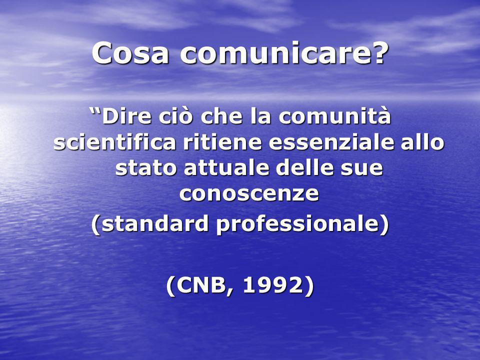 (standard professionale)