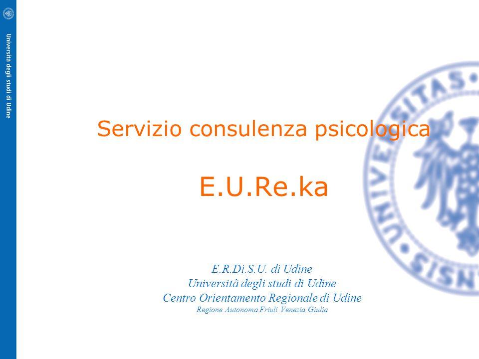 Servizio consulenza psicologica E.U.Re.ka