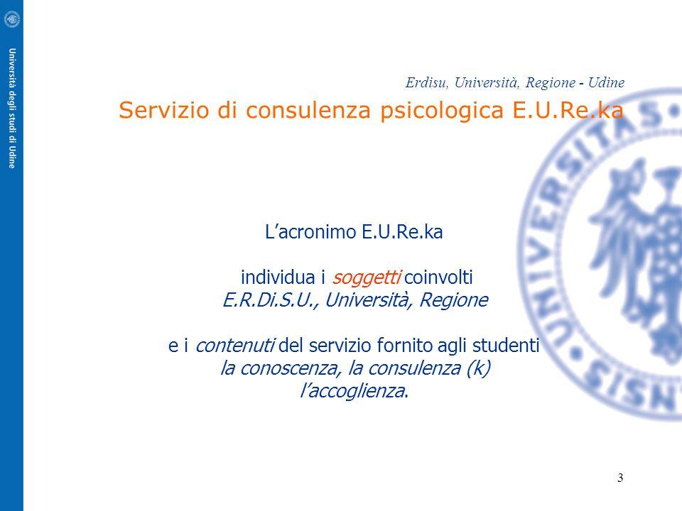 individua i soggetti coinvolti E.R.Di.S.U., Università, Regione