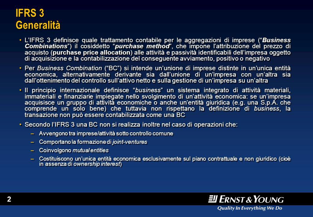April 5, 2017 IFRS 3 Generalità.