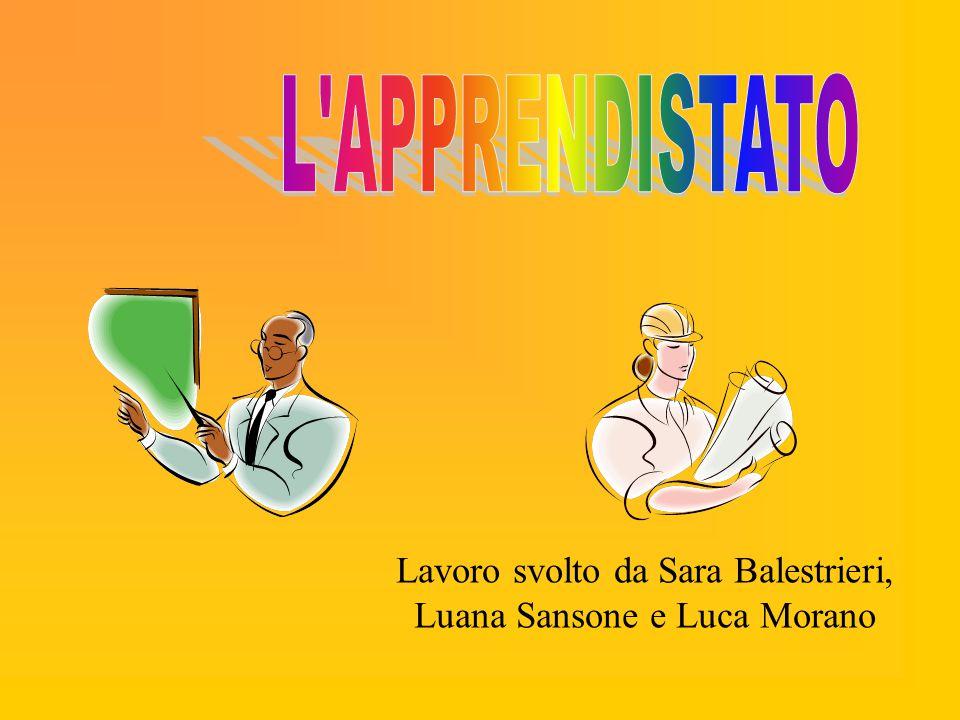 Lavoro svolto da Sara Balestrieri, Luana Sansone e Luca Morano