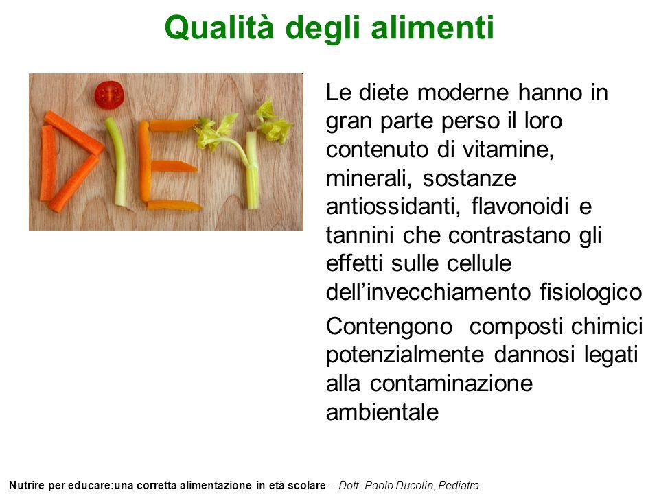 Qualità degli alimenti