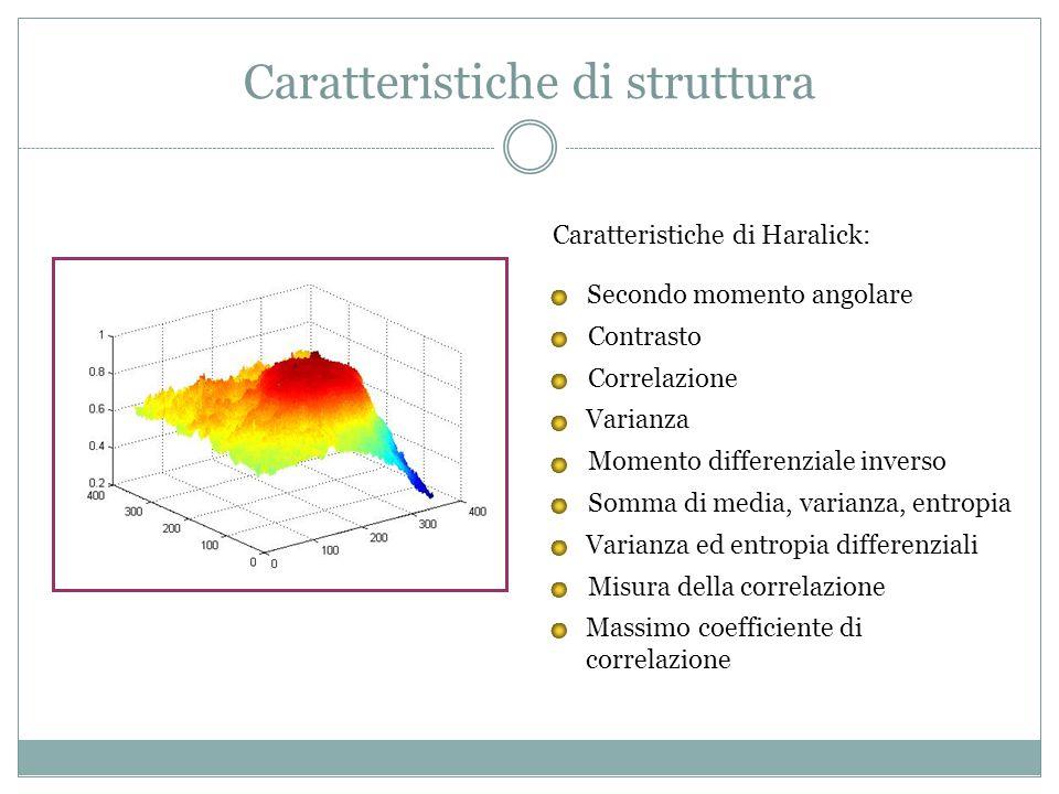 Caratteristiche di struttura
