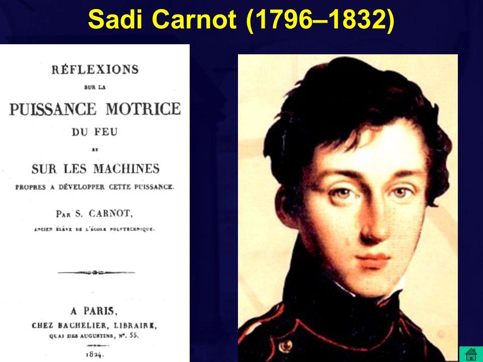 Sadi Carnot (1796–1832)