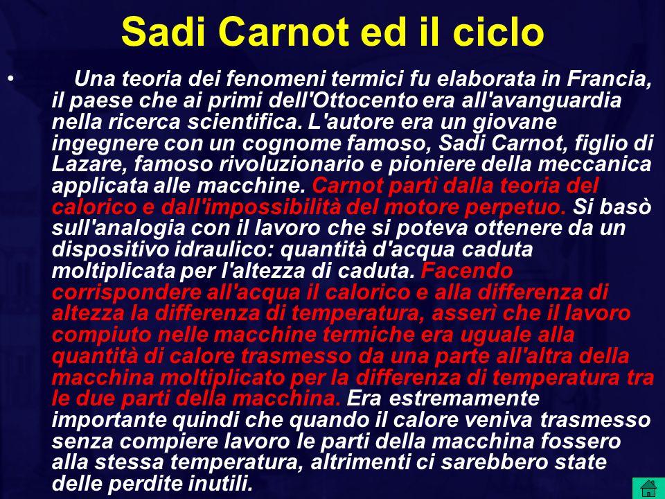 Sadi Carnot ed il ciclo