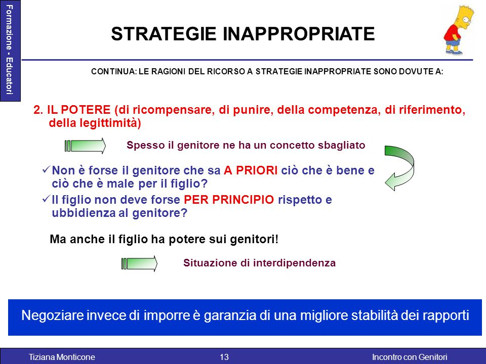 STRATEGIE INAPPROPRIATE