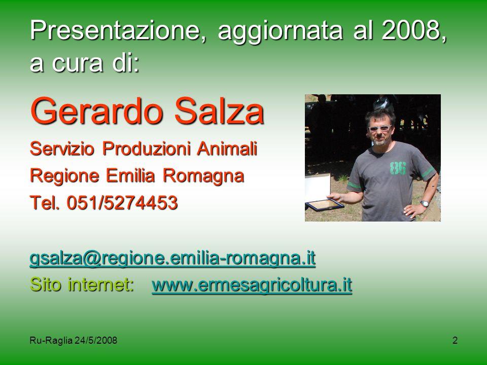 Presentazione, aggiornata al 2008, a cura di: