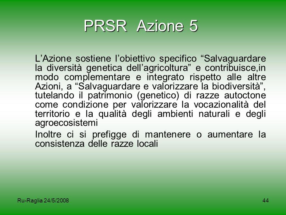 PRSR Azione 5