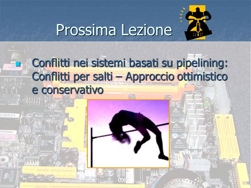 Sistemi ad elevate prestazioni - Prof. re Nicola Mazzocca