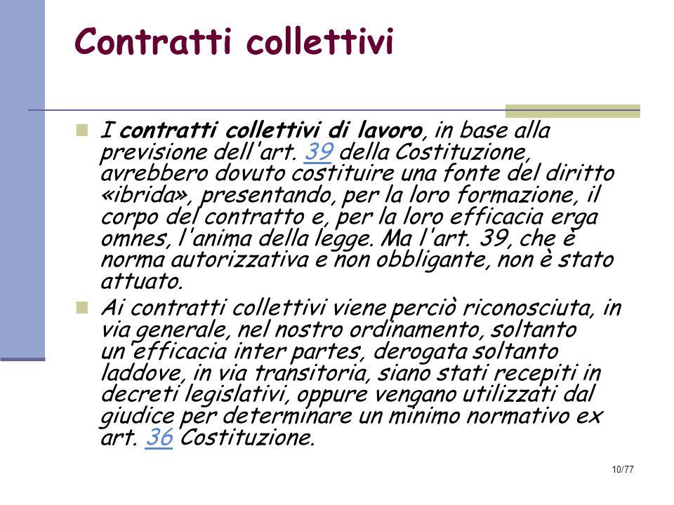 Contratti collettivi