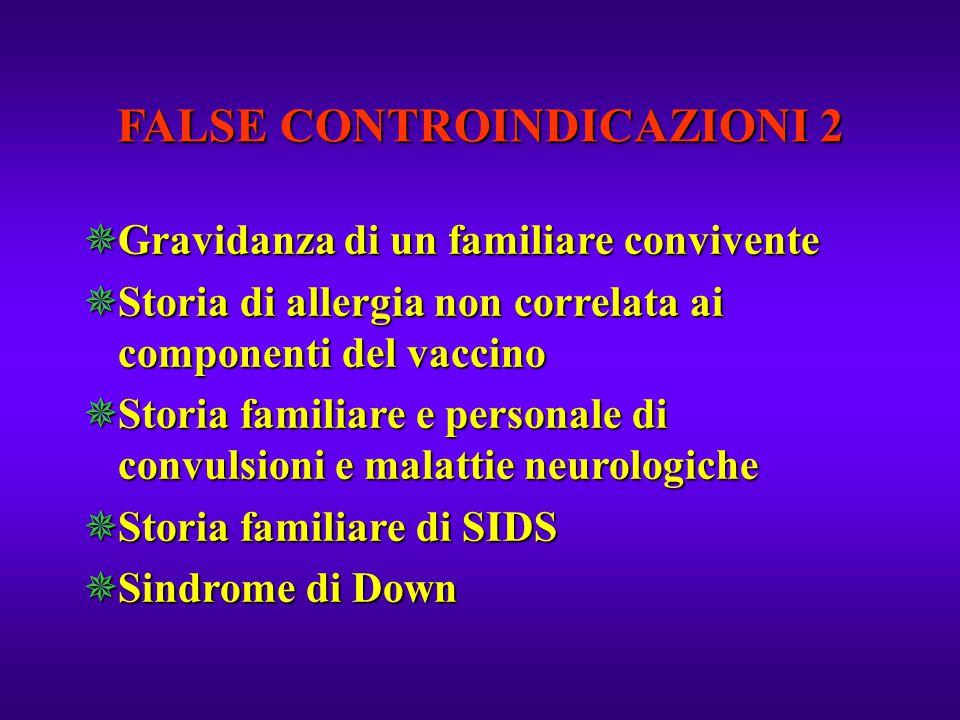 FALSE CONTROINDICAZIONI 2