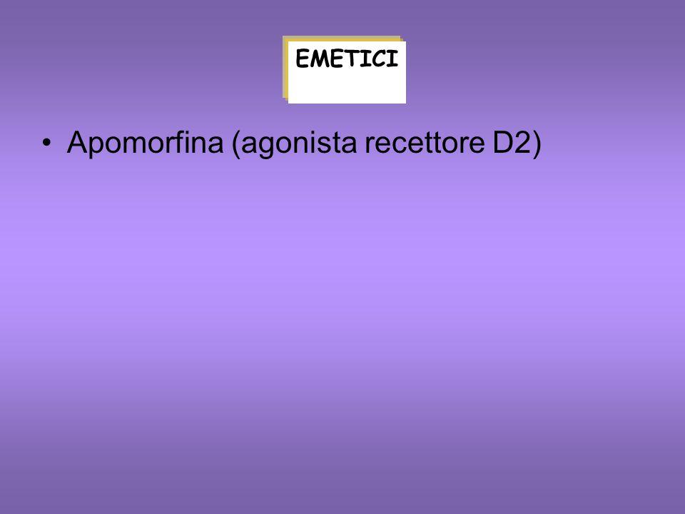 Apomorfina (agonista recettore D2)