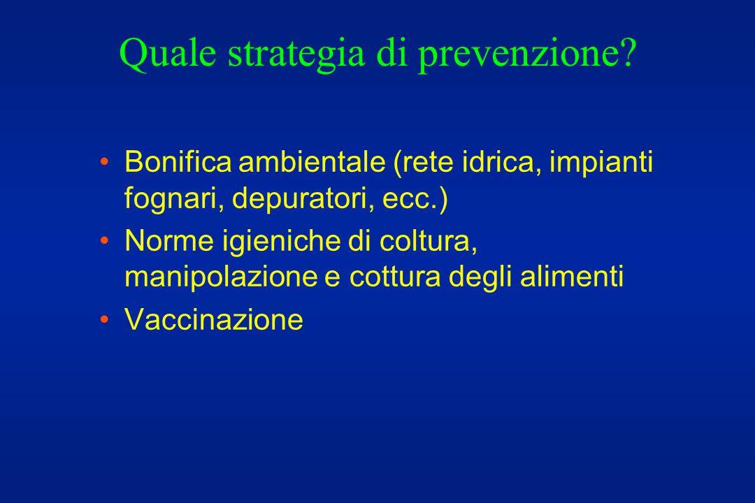 Quale strategia di prevenzione