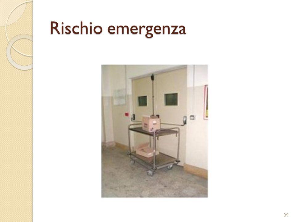 Rischio emergenza