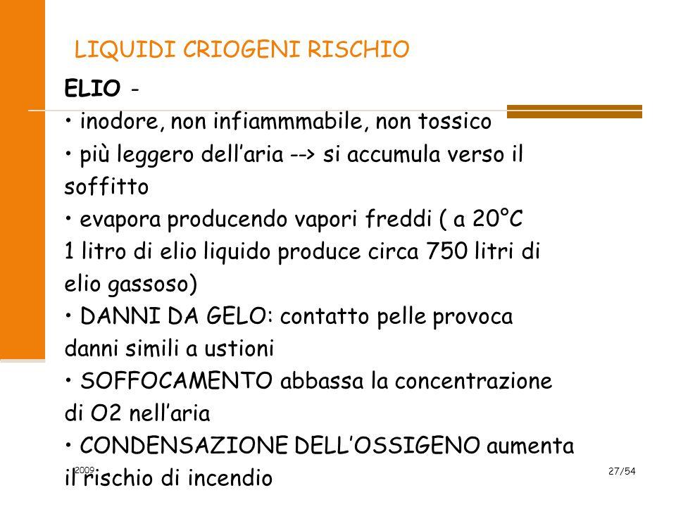 LIQUIDI CRIOGENI RISCHIO