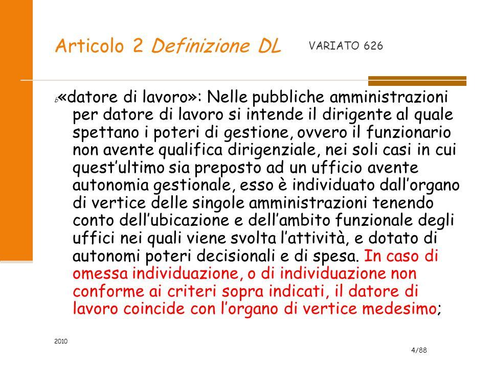 Articolo 2 Definizione DL