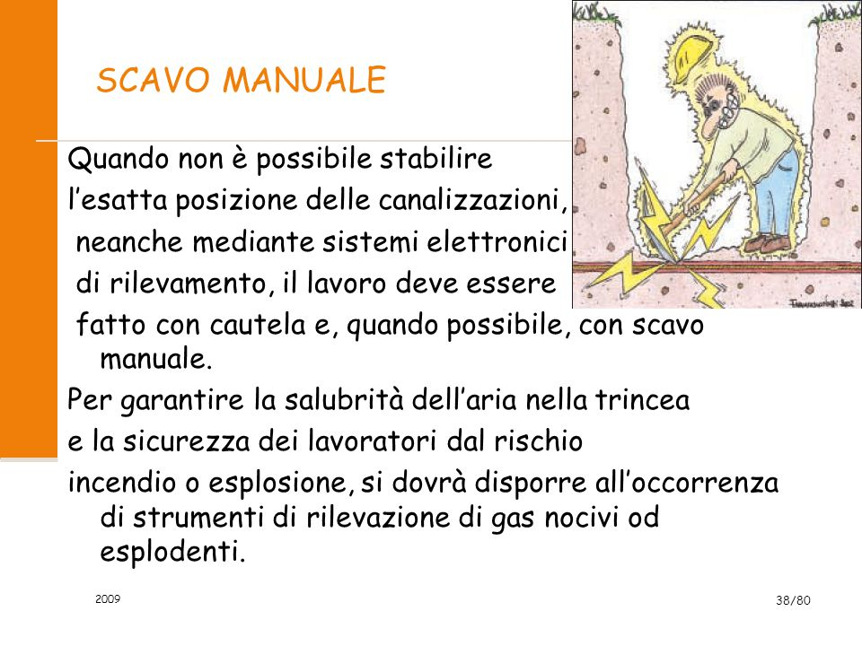 SCAVO MANUALE