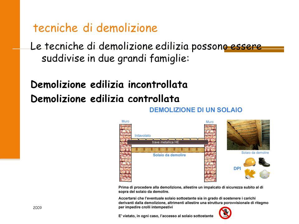 tecniche di demolizione