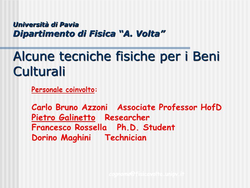 Carlo Bruno Azzoni Associate Professor HofD