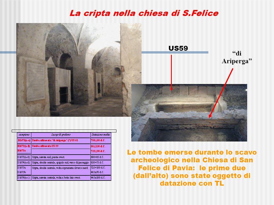 La cripta nella chiesa di S.Felice