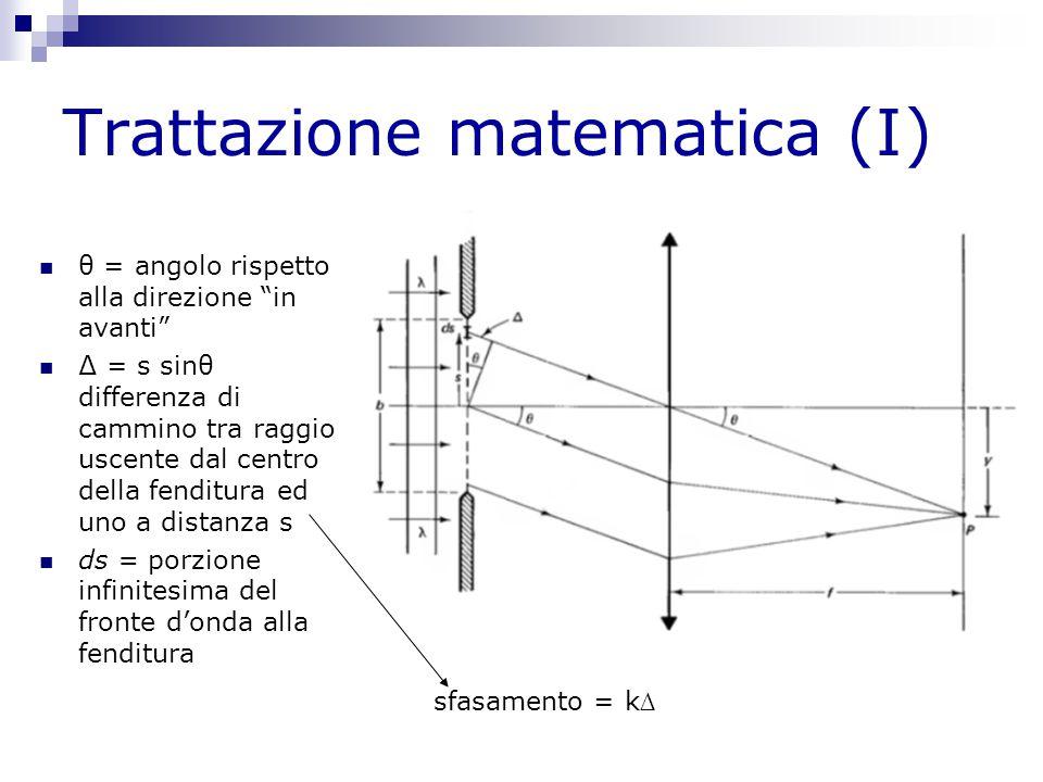Trattazione matematica (I)
