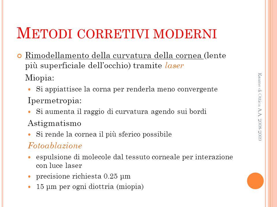 Metodi corretivi moderni