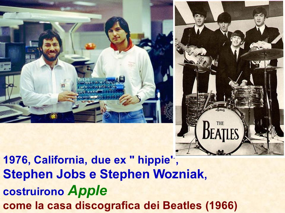 Stephen Jobs e Stephen Wozniak,