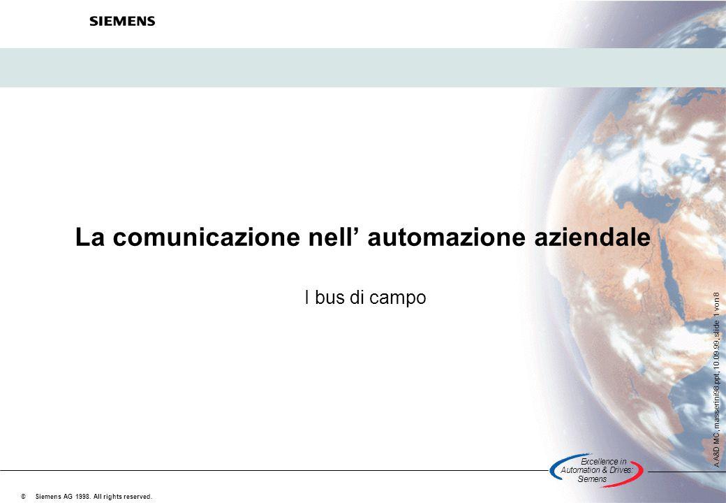 La comunicazione nell' automazione aziendale