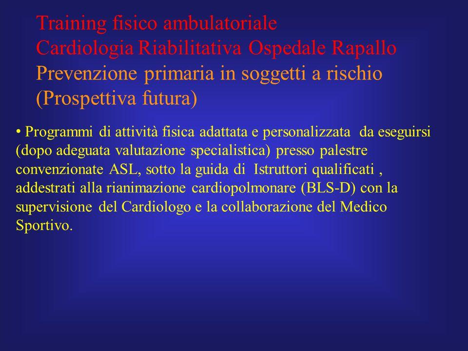 Training fisico ambulatoriale