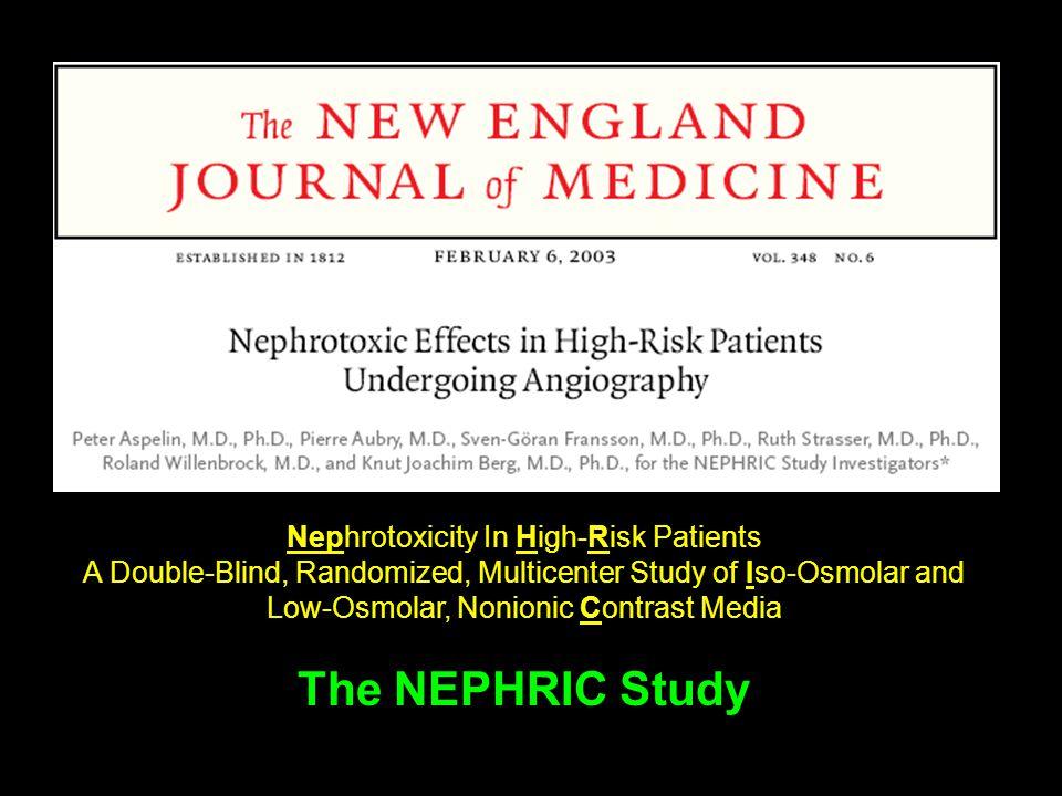 The NEPHRIC Study