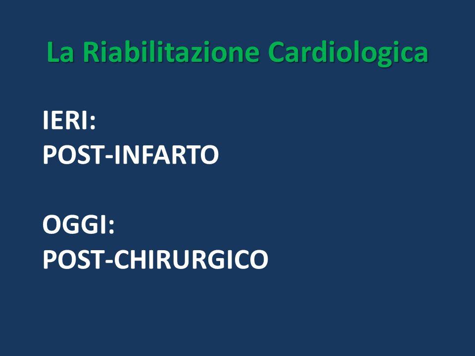 La Riabilitazione Cardiologica