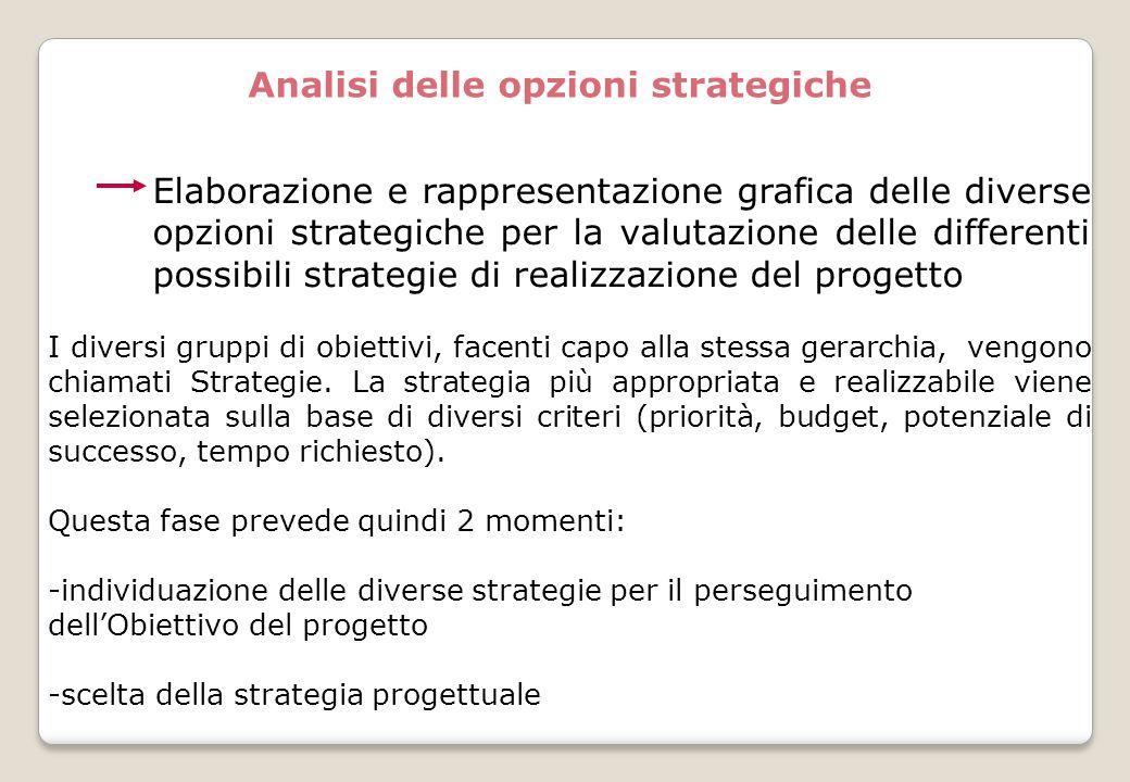 Analisi delle opzioni strategiche