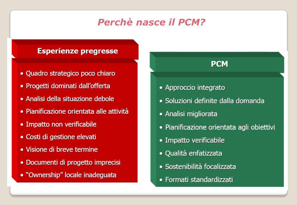 Perchè nasce il PCM