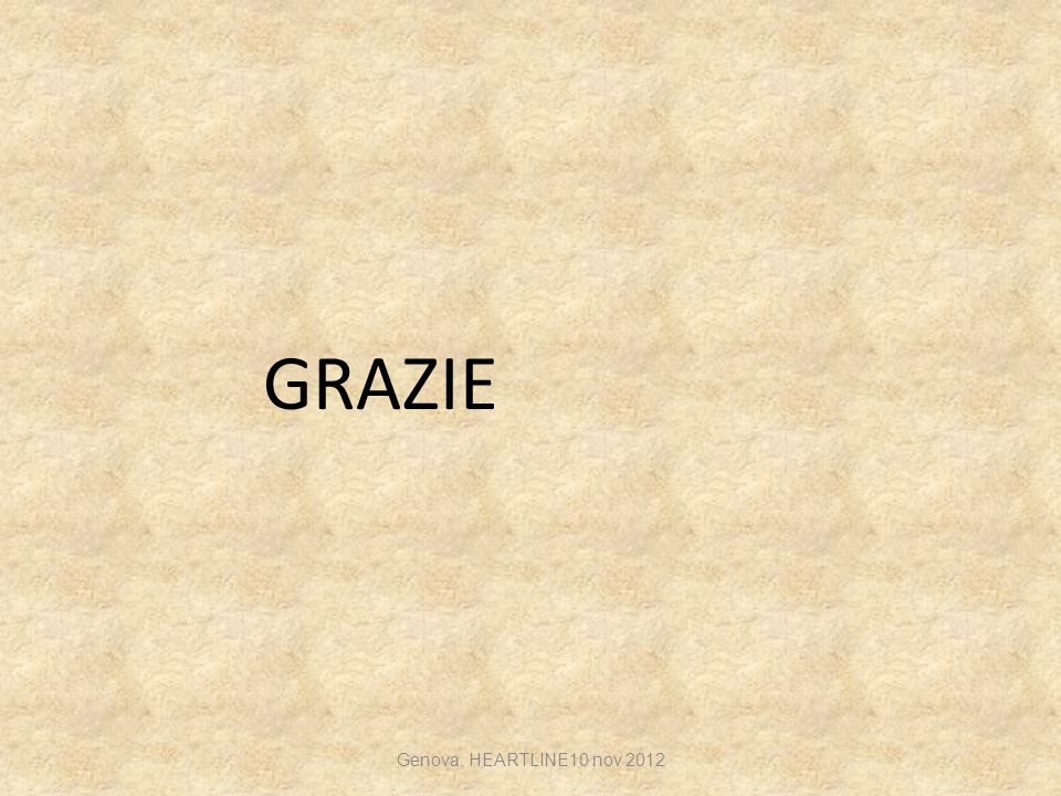 GRAZIE Genova, HEARTLINE10 nov 2012