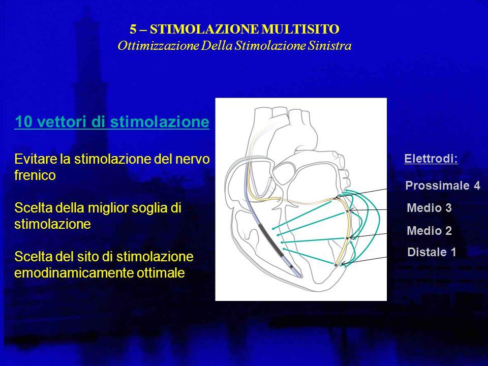 5 – STIMOLAZIONE MULTISITO