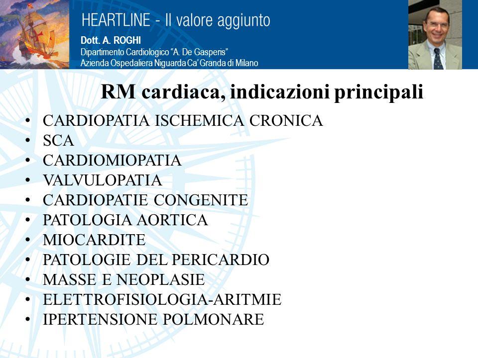 RM cardiaca, indicazioni principali