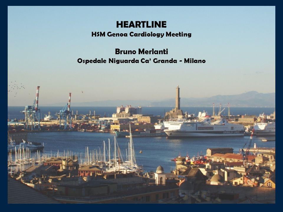 HEARTLINE Bruno Merlanti HSM Genoa Cardiology Meeting